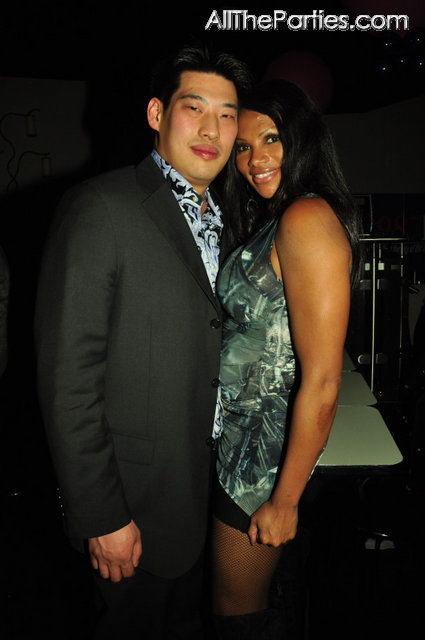 Pepa And Tom Lo At The Let S Talk About Pep Wrap Party