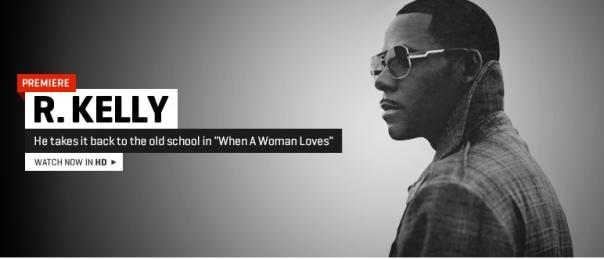 Kelly when a woman loves lyrics