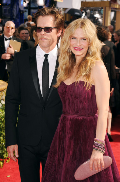 Kevin Bacon (L) and Kyra Sedgwick
