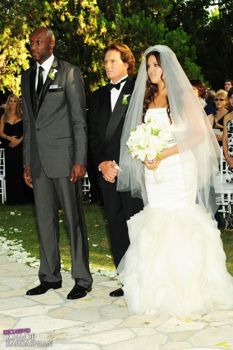 lamar odom and khloe kardashian wedding