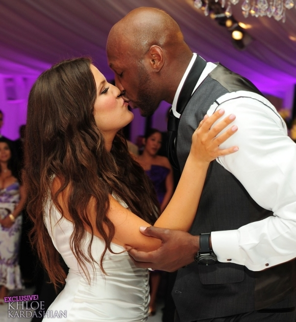 Never Before Seen Pictures From Lamar Odom Amp Khloe Kardashians Wedding