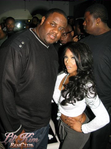 spotted lil� kim at pure