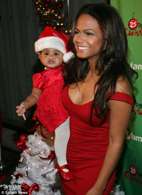 Christmas Cupid.Christina Milian Promotes Christmas Cupid