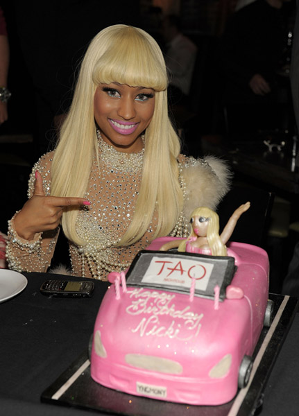 nicki minaj fashion 2010. Nicki Minaj celebrated her