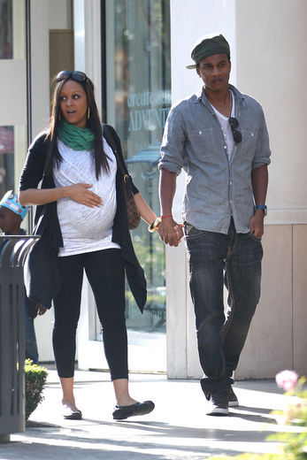 tia mowry and cory hardrict. Actress Tia Mowry was spotted