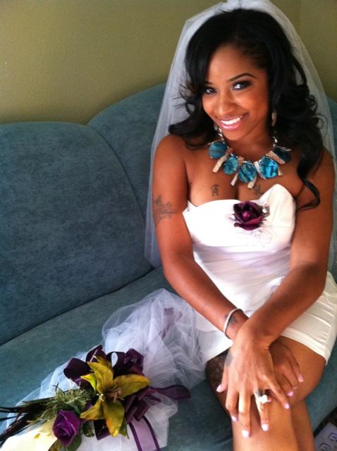"""Antonia """"Toya"""" Carter Gets Dolled Up For Bridal Shower"""