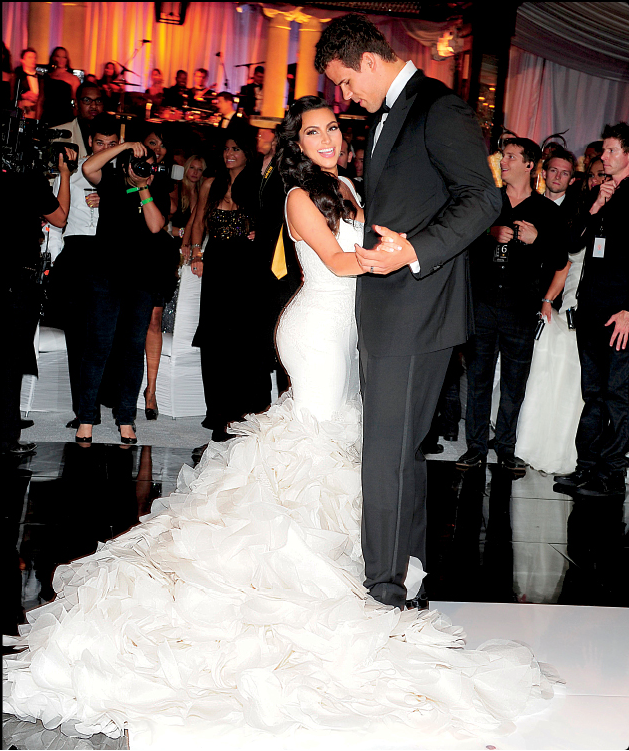 kim kardashian wedding photos 6