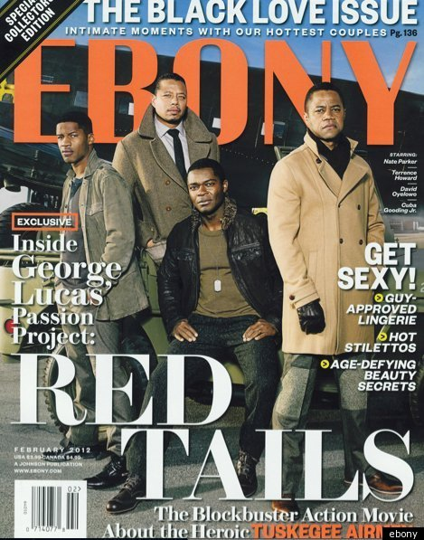 'Red Tails' Cast Cover EbONY Magazine