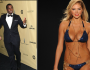 P. Diddy & Kate Upton Spotted Locking Lips?