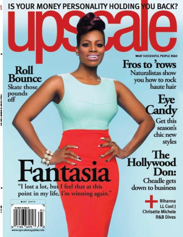 Fantasia Barrino Covers Upscale Magazine May