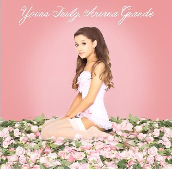 "Album Artwork: Ariana Grande ""Yours Truly"""