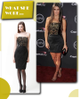 What She Wore: Danica Patrick in Badgley Mischka at the 2013 ESPY Awards