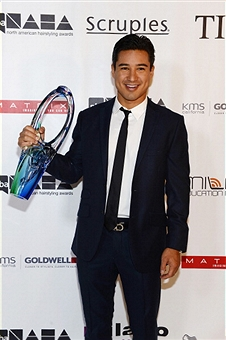 Mario Lopez, recipient of the 2013 PBA Beautiful Humanitarian Award - Photo Credit: Denise Truscello / WireImage