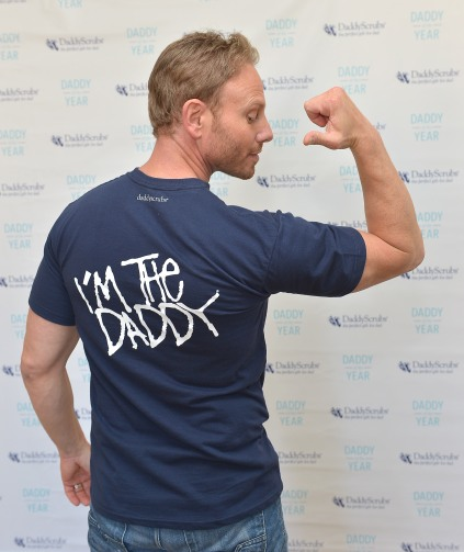 Daddyscrubs Ambassador Ian Ziering Named Daddy Of The Year