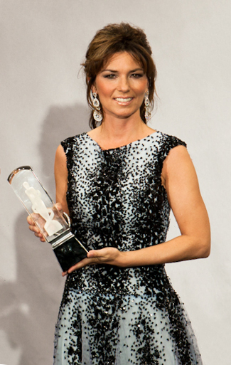 Shania Twain at the Junos - March 27, 2011.
