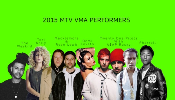VMA Performer Announcement 08 25 15