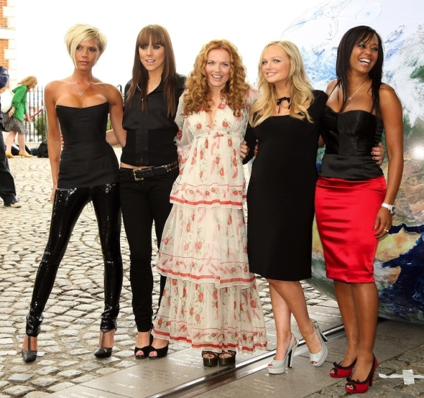 SPICE GIRLS/GETTY
