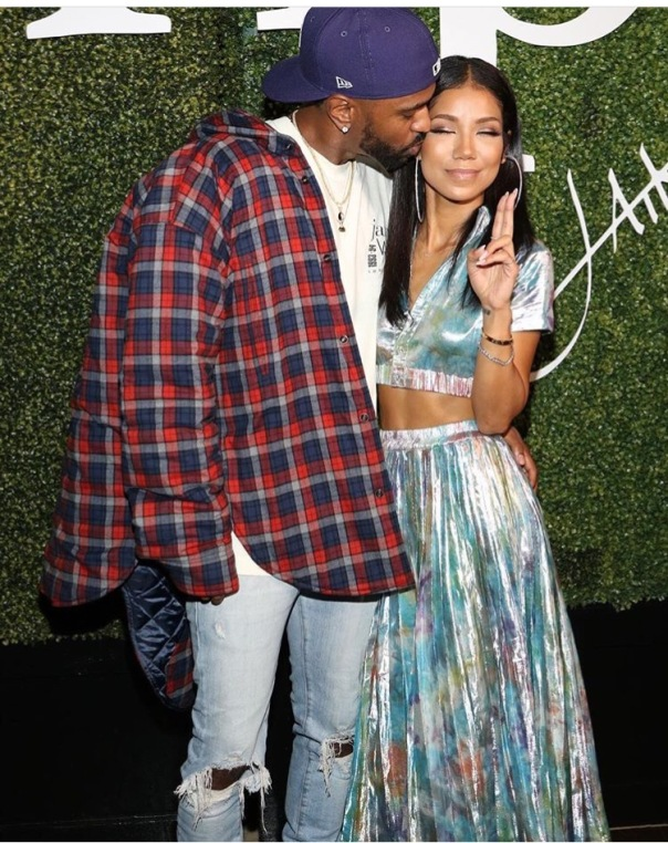 Jhene aiko tattoos big sean s face on her arm for Big sean tattoos