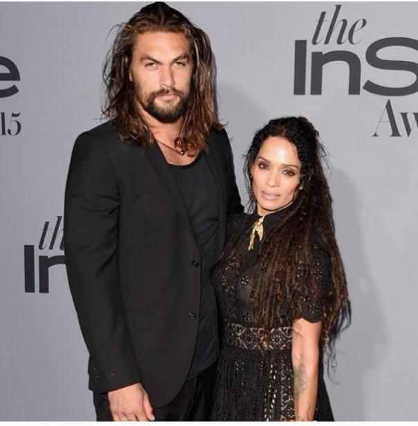 Jason Momoa Early Years: Jason Momoa And Lisa Bonet Are Married